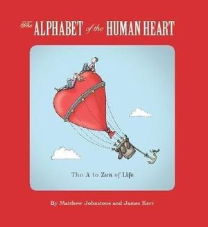 The alphabet of the human heart book